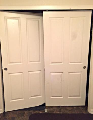 New closet doors installed in Lakewood CO 80226
