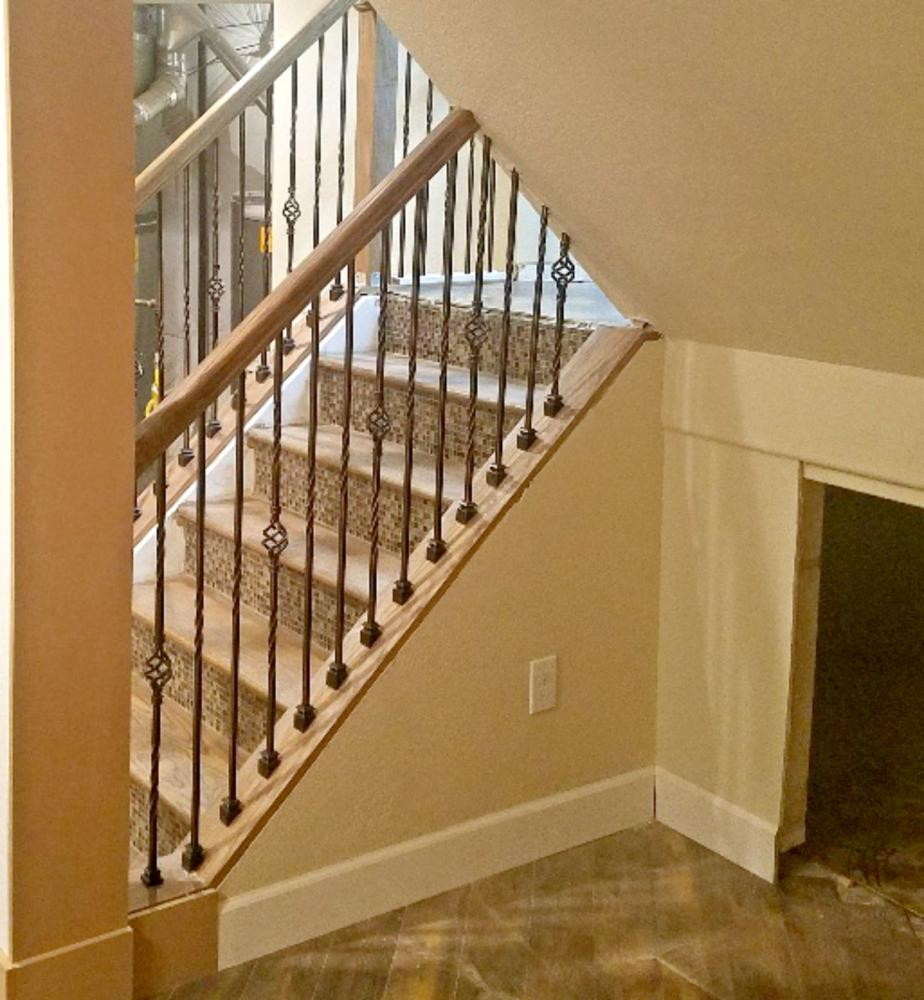 Finished Staircase rebuild, Basement remodel, Golden CO 80401