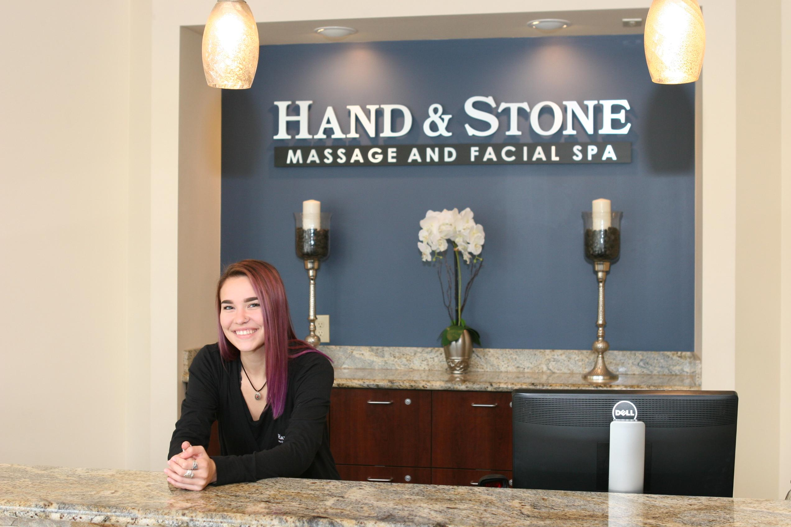 One of our Friendly Spa Associates