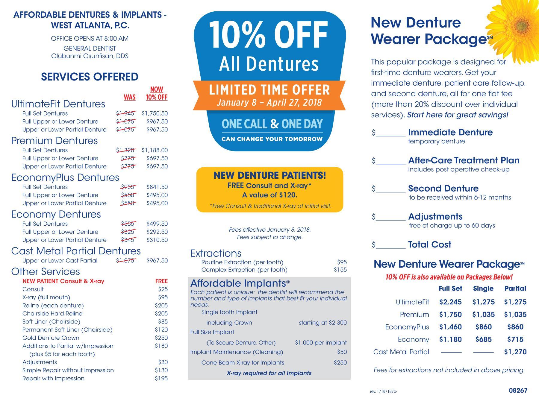 Atlanta Ga Dentist Dentist 30331 Affordable Dentures