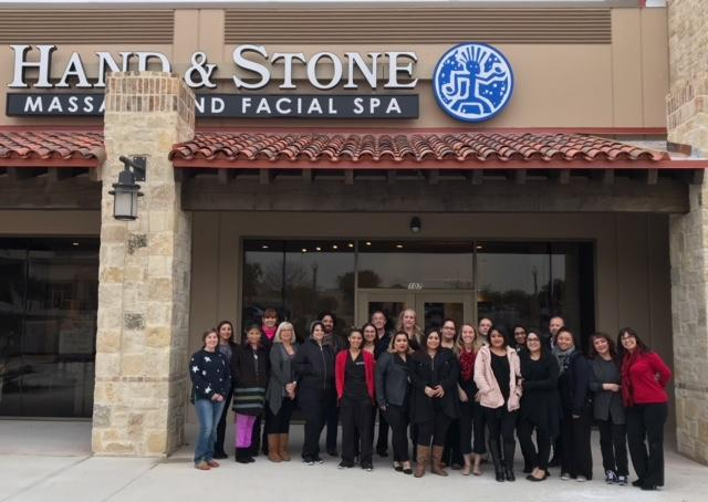 Hand & Stone Massage and Facial Spa - New Spa team January 2018