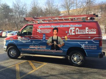 Van Graphics for Omega Electric
