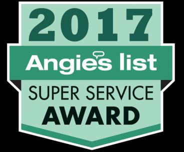 2017 Angie's Super Service Award