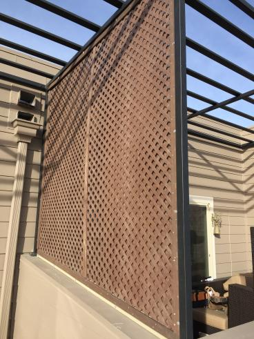 Lattice Installation