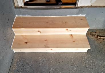New stairs constructed to order in Ken Caryl CO 80127