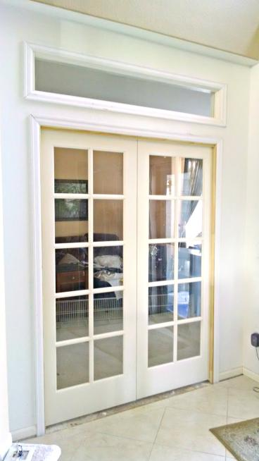 Finished French doors and new framing installed in Elizabeth CO 80107
