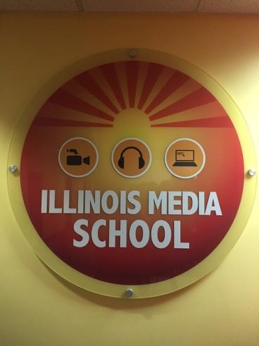 Wall Graphic - Illinois Media School - Lombard, IL