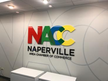 Office Sign - Naperville Area Chamber of Commerce