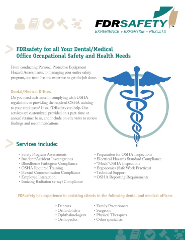FDRsafety Medical Flyer