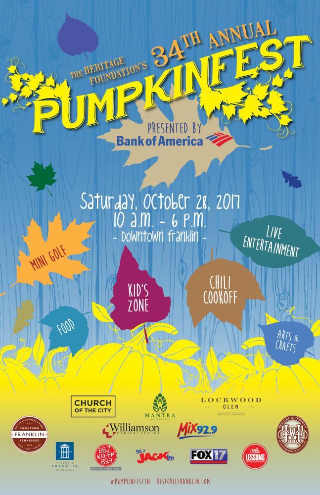 Pumpkinfest 2017 Event Poster