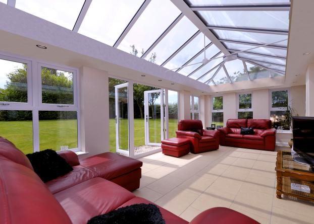 Custom Hampton Cathedral Glass Roof Design