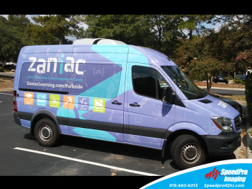 Full color Vehicle wrap for Zaniac