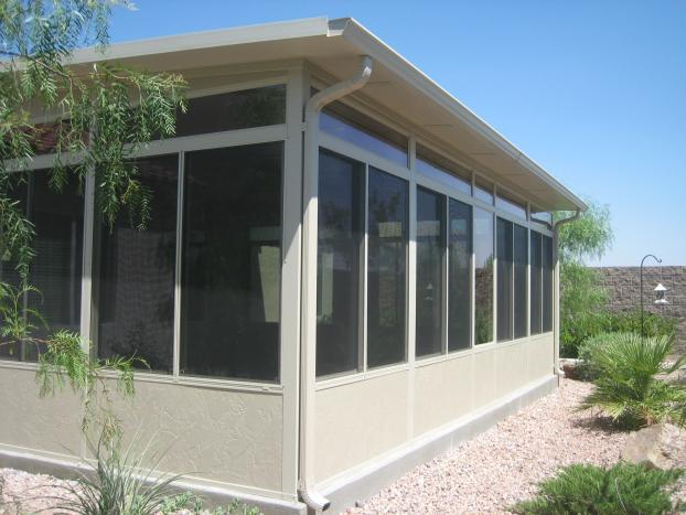 Standard Sunroom Design with Solid Insulated Roof System - Henderson, Nevada