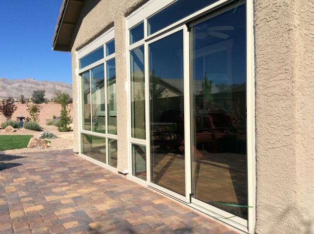 Custom Patio Enclosure ( Side Angle View ) - Summerlin, Nevada