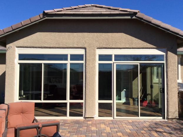 Custom Patio Enclosure Front View, Summerlin Nevada