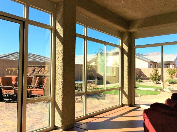 Custom Patio Enclosure ( Interior View ) - Summerlin, Nevada