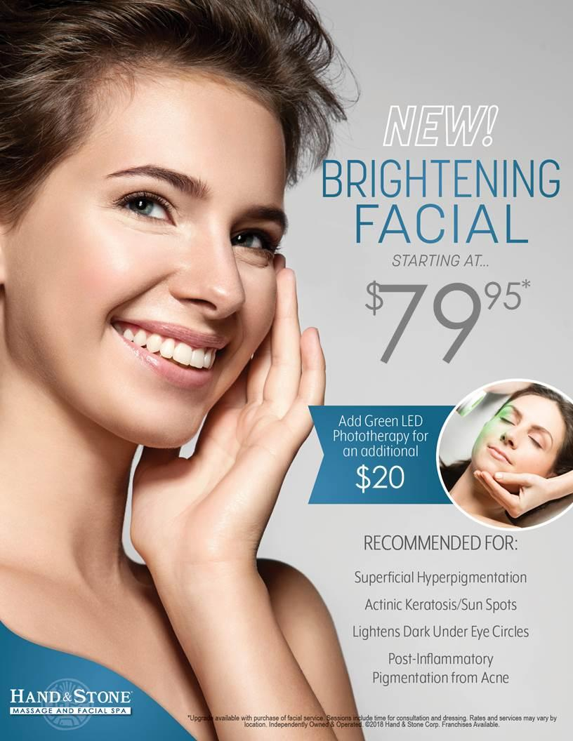 Brightening Facial with Green LED!