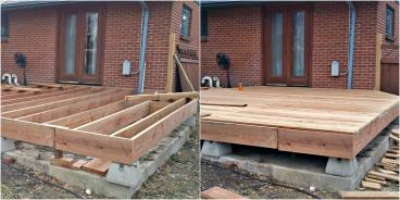 New Deck Build in Lakewood CO 80226