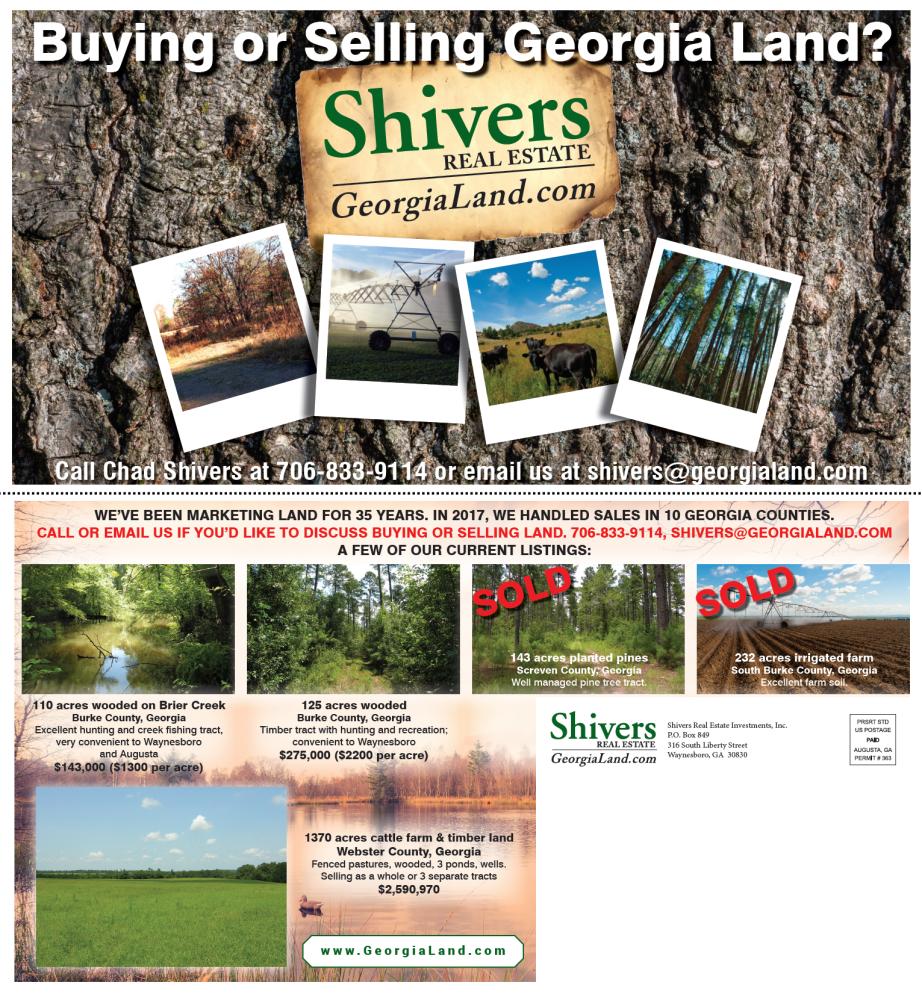 Shivers Real Estate Postcard