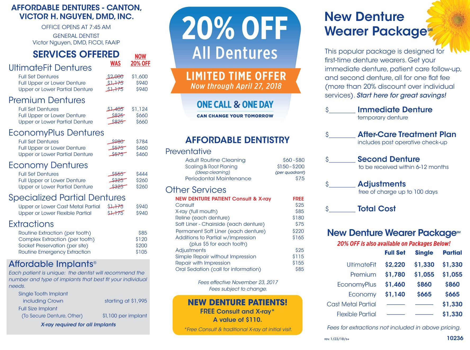 denture care center canton oh dentist 44705 affordable dentures implants. Black Bedroom Furniture Sets. Home Design Ideas