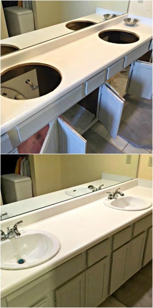 New sinks installed in Sedalia CO 80135
