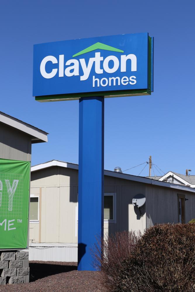 Clayton Homes Pylon Sign