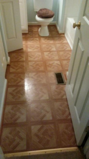 Bathroom Floor Repair In Glen Burnie, MD
