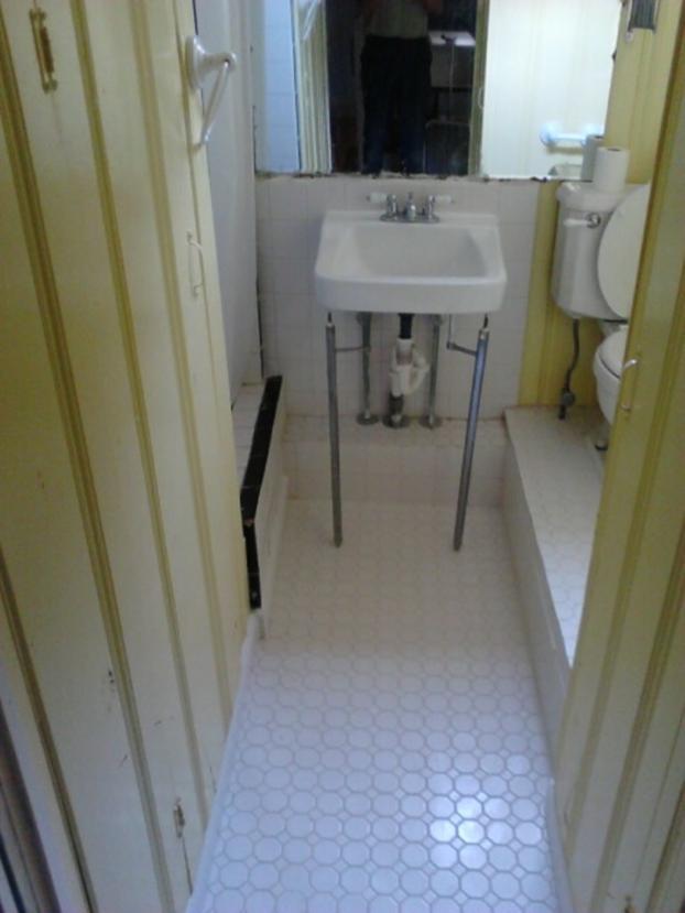 Bathroom Floor in Baltimore County, MD