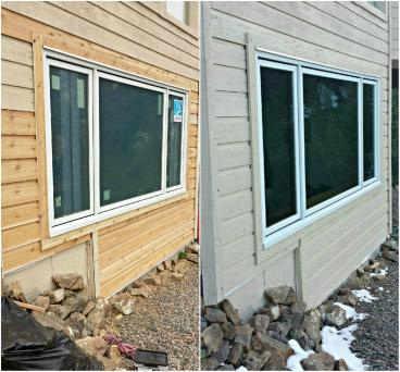 NEW, bigger window, & siding & paint in Golden CO 80401