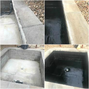Sealing backyard wading pool in Greenwood Village CO 80121