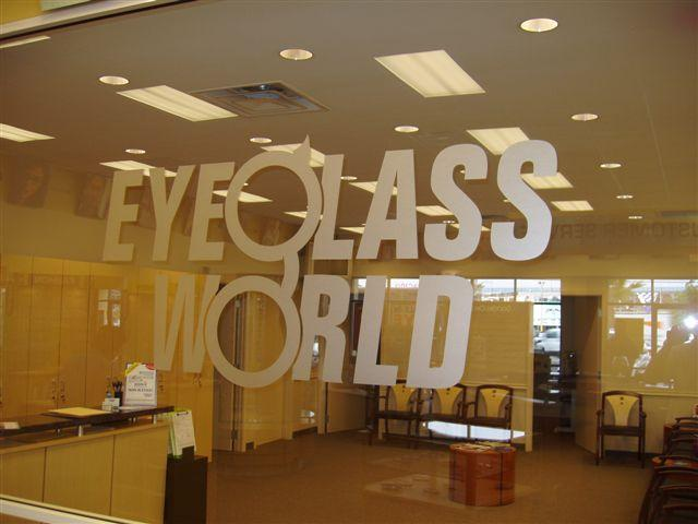 Window Clings for Eyeglass World