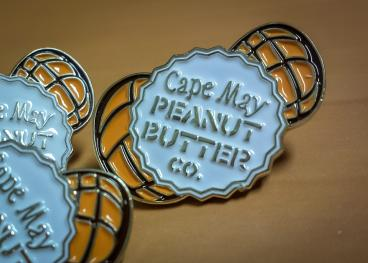 Cape May Peanut Butter Co. - Enamel Pin
