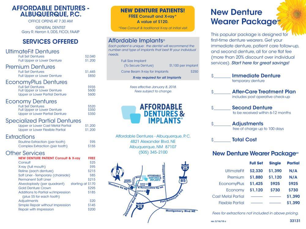 albuquerque nm denture care center dentist 87107 affordable dentures implants. Black Bedroom Furniture Sets. Home Design Ideas
