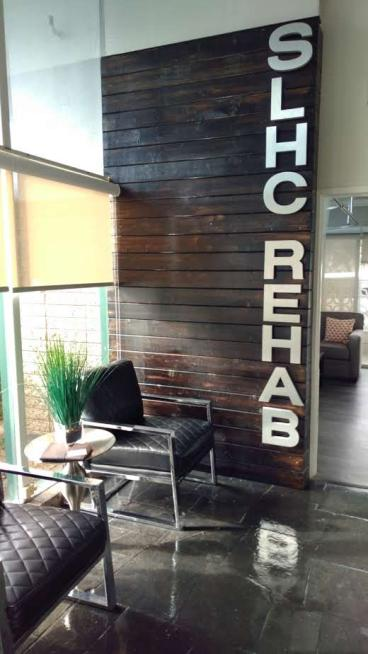 Jones Rehab San Leandro 3-d lettering
