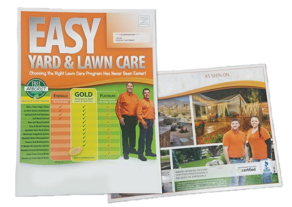 Landscaping Mailer