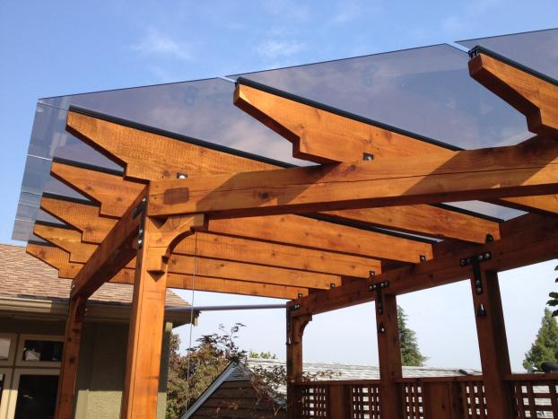 Pergola's can be any shape