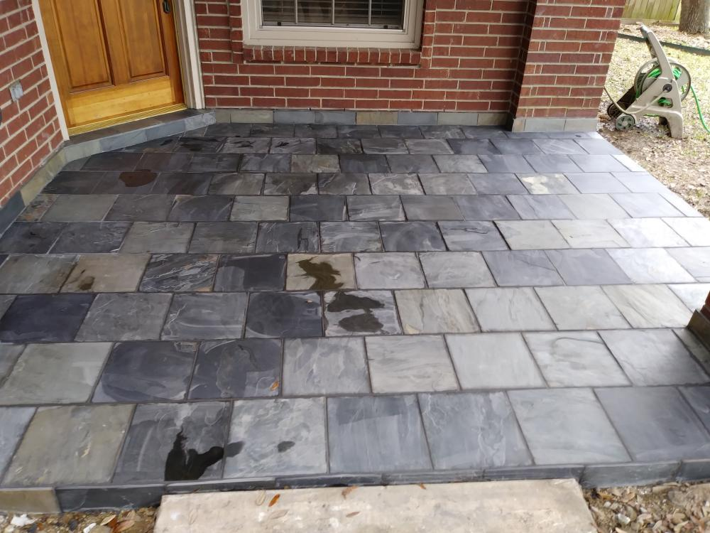 Clear Lake Exterior Tiling Work