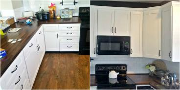 Kitchen makeover in Roxborough Park CO 80125
