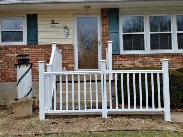 Front Porch Railing in Sykesville, MD