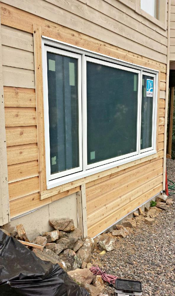 Larger Window and Siding installation in Morrison, CO