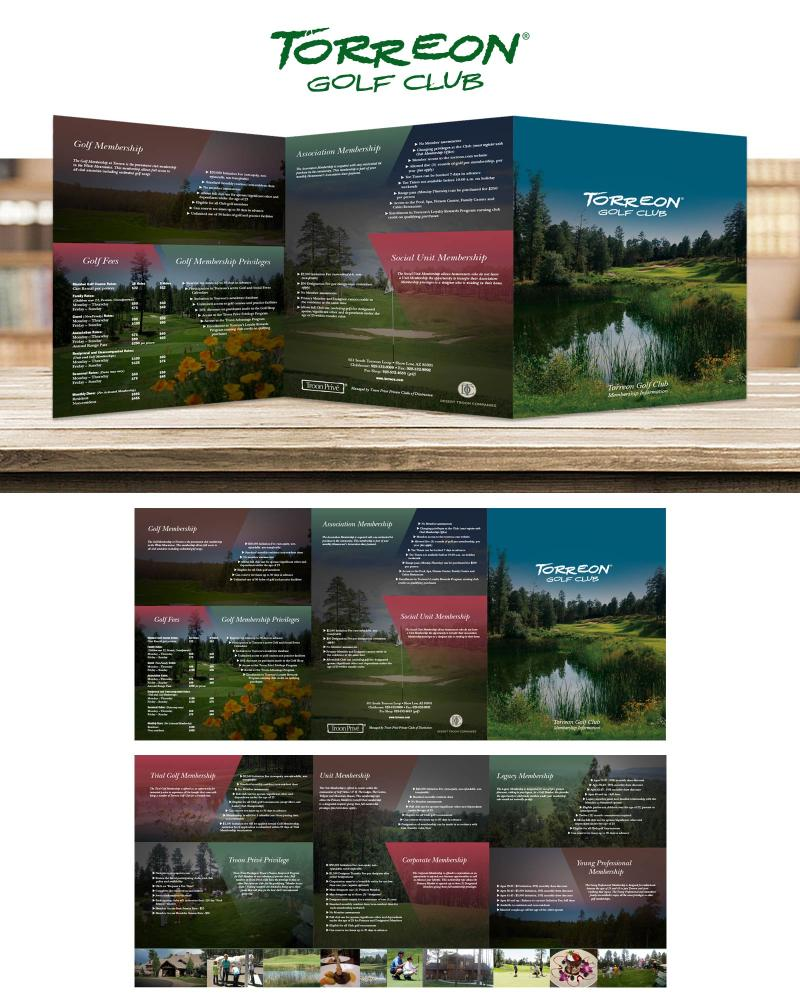 Torreon Golf Club Brochure