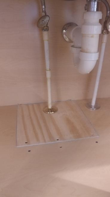 Sink Pipe and Floor Repair in Ellicott City, MD