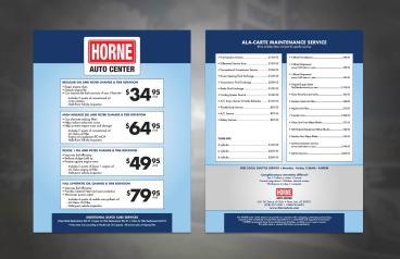 HORNE Auto Center