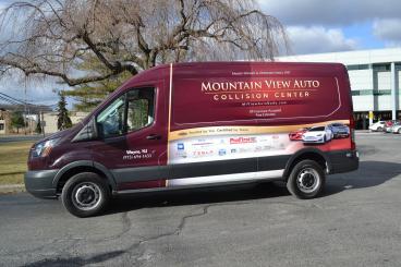 Mountain View Auto Van Wrap