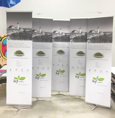 Retail Banner Stands