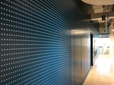 Wall Mural Duke Energy Building