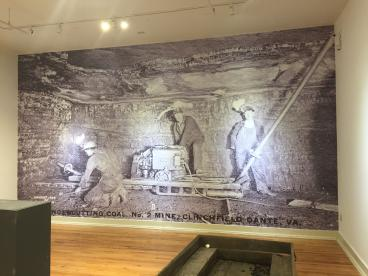 William King Wall Mural, Completed