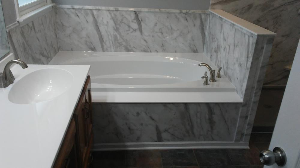After - Bathtub