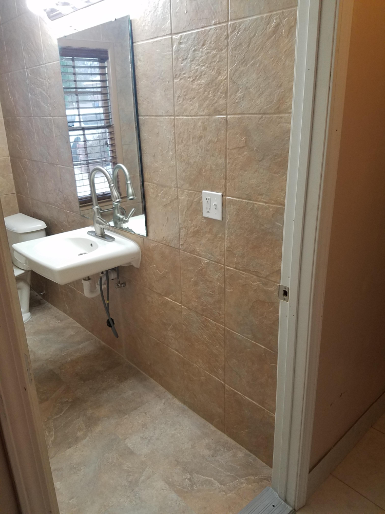 After - Bathroom