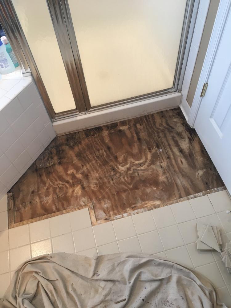Bathroom Floor in Laurel, MD